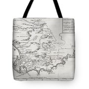 1757 Bellin Map Of South Africa And The Cape Of Good Hope Tote Bag by Paul Fearn