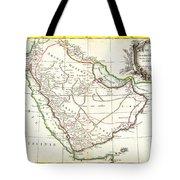 1771 Bonne Map Of Arabia Geographicus Arabia Bonne 1771 Tote Bag