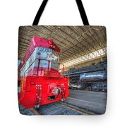 1776 And 1218 Locomotives Norfolk And Western Tote Bag