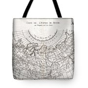 1780 Raynal And Bonne Map Of Russia Tote Bag