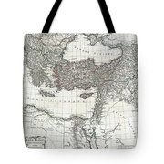 1782 D Anville Map Of The Eastern Roman Empire Tote Bag