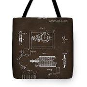 1794 Eli Whitney Cotton Gin Patent 2 Espresso Tote Bag