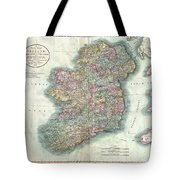 1799 Cary Map Of Ireland  Tote Bag