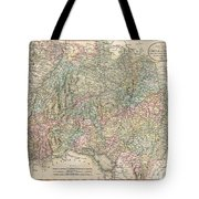 1799 Cary Map Of Swabia Germany Tote Bag