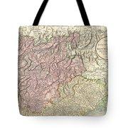 1799 Cary Map Of Tyrol Tote Bag