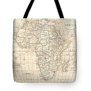 1799 Clement Cruttwell Map Of Africa  Tote Bag