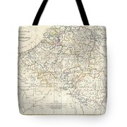 1799 Clement Cruttwell Map Of Belgium Or The Netherlands Tote Bag