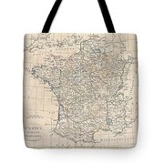 1799 Clement Cruttwell Map Of France In Provinces Tote Bag