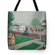 17th And Hutchins Street Portsmouth Ohio Tote Bag