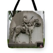 17th Pennsylvania Cavalry Tote Bag