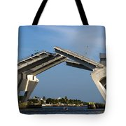 17th Street Drawbridge Tote Bag