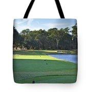 17th Tee Tote Bag