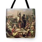 Greek Shepherd And Maiden Tote Bag