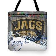 Jacksonville Jaguars Tote Bag by Joe Hamilton