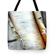Unraveling Birch Tote Bag