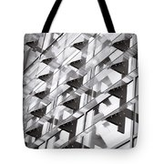 Modern Building Tote Bag