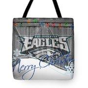 Philadelphia Eagles Tote Bag by Joe Hamilton