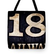 18 Railway Tote Bag