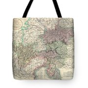 1801 Cary Map Of Austria Tote Bag