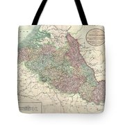 1804 Cary Map Of Belgium And Luxembourg Tote Bag