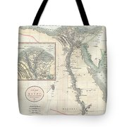 1805 Cary Map Of Egypt Tote Bag