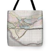 1813 Pinkerton Map Of Western Africa Tote Bag