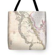 1818 Pinkerton Map Of Egypt Tote Bag