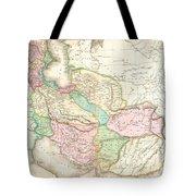 1818 Pinkerton Map Of Persia  Tote Bag