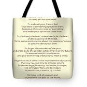 182- Promise Yourself Tote Bag