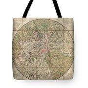 1820 Mogg Pocket Or Case Map Of London Tote Bag
