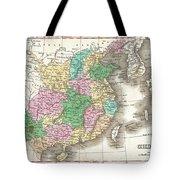 1827 Finley Map Of China  Tote Bag