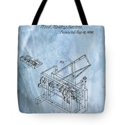 1836 Wood Molding Machine Tote Bag