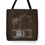 1844 Charles Goodyear India Rubber Goods Patent Espresso Tote Bag