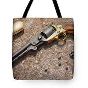 1851 Navy Revolver 36 Caliber Tote Bag by Mike McGlothlen