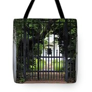 1851 Phillips House Mansion Tote Bag by Ella Kaye Dickey