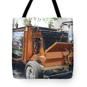 1852 Cunningham Hearse With 383 Chevy Stroker Engine Tote Bag