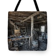 1860's Blacksmith Shop - Nevada City Ghost Town - Montana Tote Bag