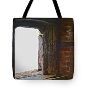 1861 Cannon Turret Fort Point San Francisco Bay Tote Bag