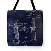 1862 Corkscrew Patent Drawing Tote Bag