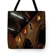 1865 - St. Jude's Church  - Interior 2 Tote Bag by Kaye Menner