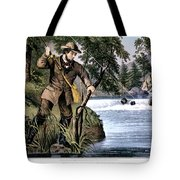 1870s Brook Trout Fishing - Currier & Tote Bag