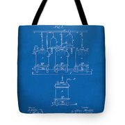 1873 Brewing Beer And Ale Patent Artwork - Blueprint Tote Bag