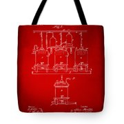 1873 Brewing Beer And Ale Patent Artwork - Red Tote Bag
