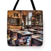 1879 School House - Knott's Berry Farm Tote Bag