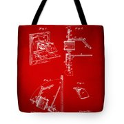 1881 Taylor Camera Obscura Patent Red Tote Bag