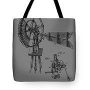 1889 Windmill Patent Tote Bag