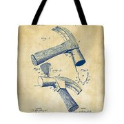 1890 Hammer Patent Artwork - Vintage Tote Bag