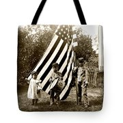 1890 The Young Patriots Tote Bag by Historic Image