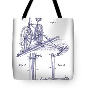 1891 Bicycle Patent Blueprint Tote Bag