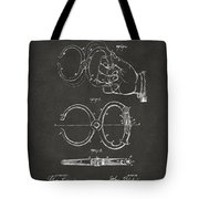 1891 Police Nippers Handcuffs Patent Artwork - Gray Tote Bag